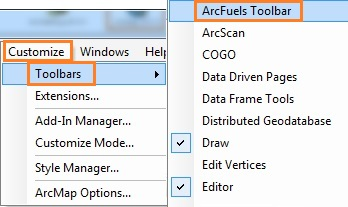 Loading ArcFuels10 into ArcMap